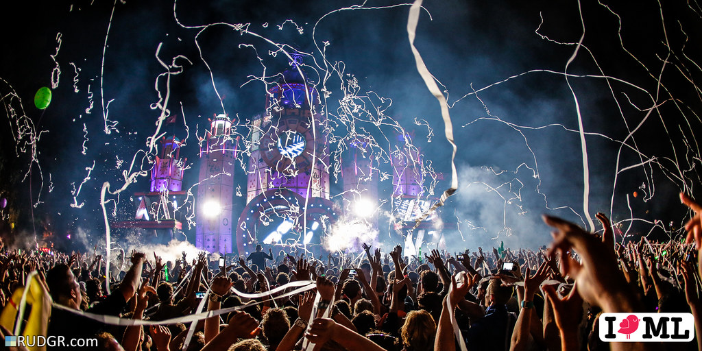 Hardwell at the mainstage