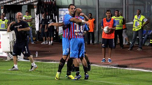 Catania-Avellino 1-0, il tabellino$