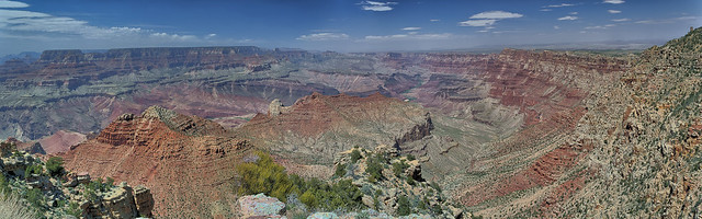 Grand Canyon Dessert View Panorama