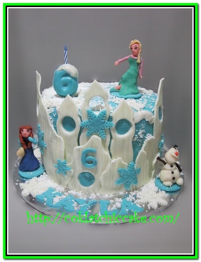 Kue Ulang Tahun Frozen The Disney Kayla Coklatchic Cake