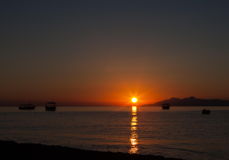 Santorini Greece Sunrise Sunset Times