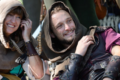 Action and chic at the New York Renaissance Fair in Sterling Forest