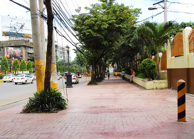 Cebu City sidewalk