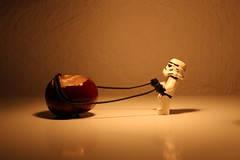 ..problems of a stormtrooper..