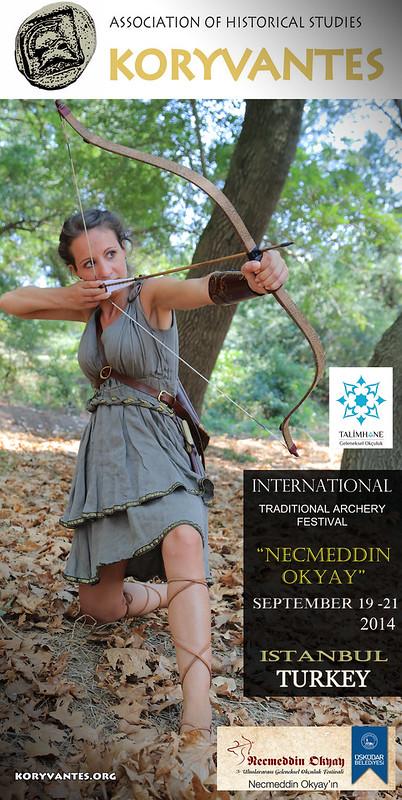 ΚΩΝΣΤΑΝΤΙΝΟΥΠΟΛΗ - Συμμετοχή στους 3ους Διεθνείς Αγώνες Παραδοσιακής Τοξοβολίας , 19-21 Σεπτεμβρίου