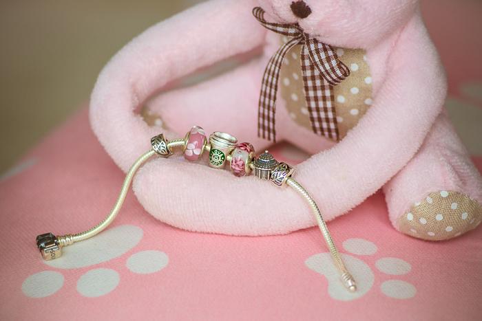 Olga choi fashion blogger myblondegal  Korea Soufeel charm bracelet 925 silver-00245
