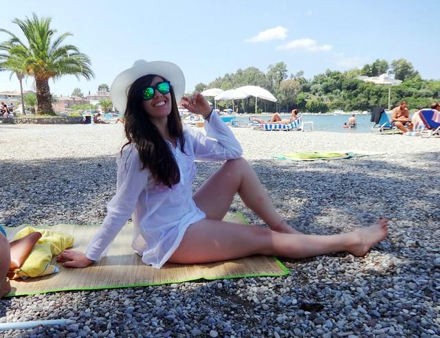 Gouvia beach, Corfu