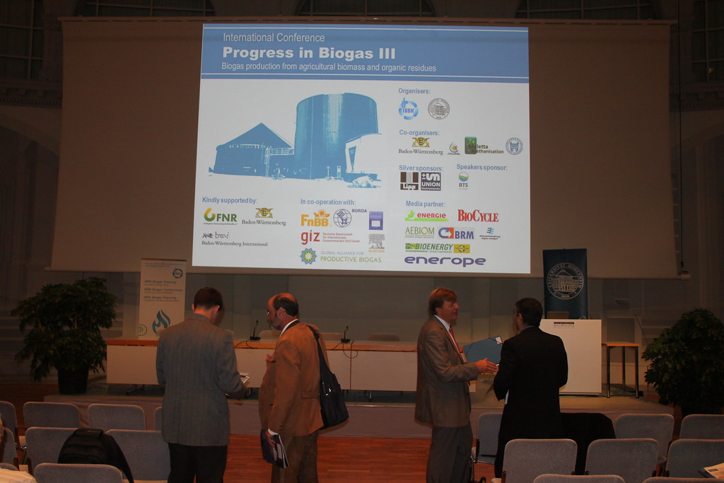 PIB3 Progress in Biogas Conference | Biogas Zentrum DE | Flickr
