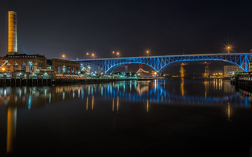 Bridge Over the River Cuyahoga by Geoff Livingston