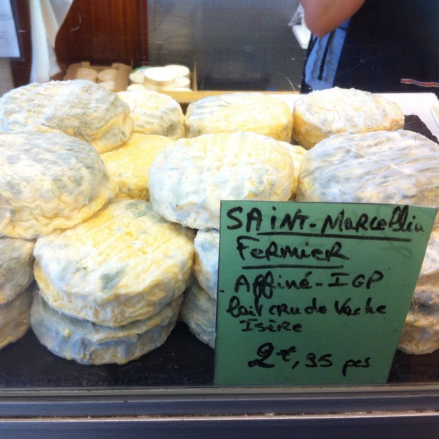 Saint-Marcellin #cheese. #fromage