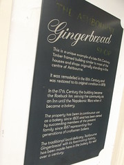 Photo of Roebuck Inn, Ashbourne and The Ashbourne Gingerbread Shop black plaque