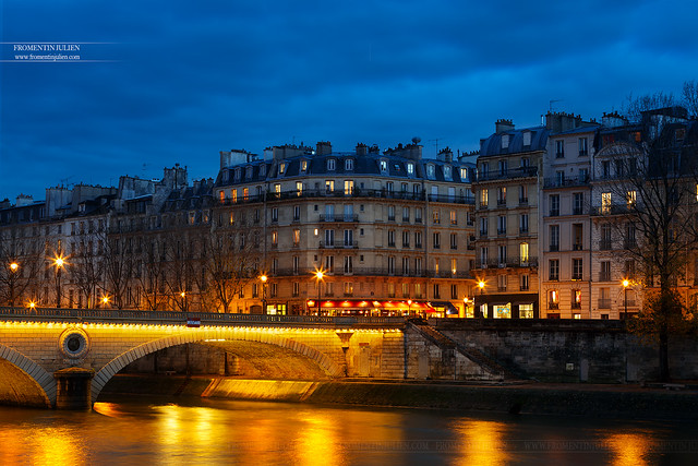 Pont Louis-Philippe & Ile Saint-Louis, Paris