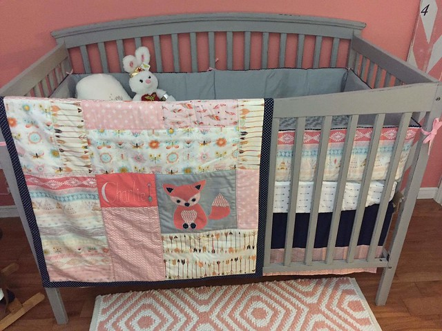 Bedding set for baby Charlie