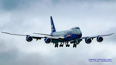 16:9 of Silkway Airlines 747-8F On Final