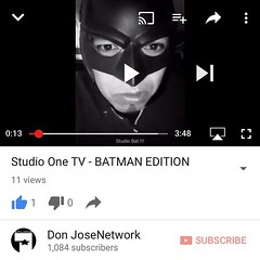 Studio One TV - BATMAN EDITION !!!!! Full video here : https://youtu.be/lYg2TVt4ic8 We all had a blast that day, shout out to Mr Shadow , Lil Uno, Oside Blaze, Big Cae films, Nikki Rose, ShoGun from Street Notes Records, Sergio Tortoledo, Lost Product, th