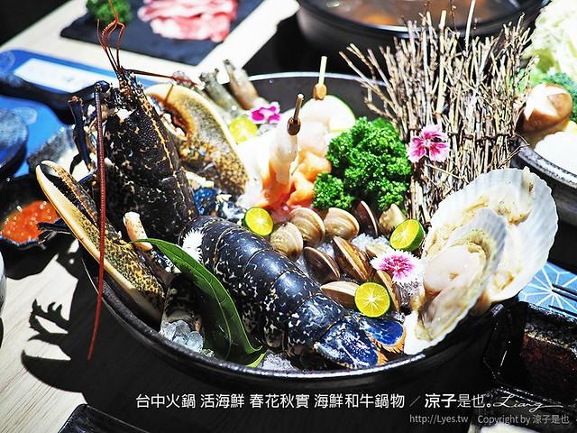 台中火鍋 活海鮮 春花秋實 海鮮和牛鍋物 62