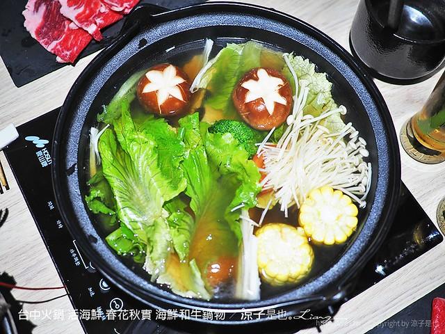 台中火鍋 活海鮮 春花秋實 海鮮和牛鍋物 70