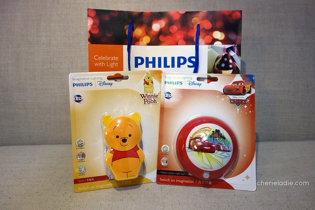 Philips Disney Winnie the Pooh Torch and Disney Cars Motion Sensor Night  Light