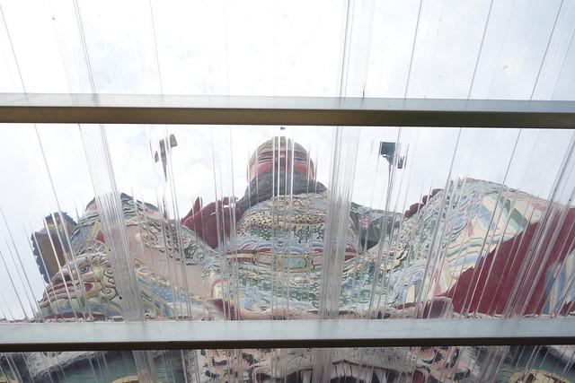 南天宮の巨大関羽