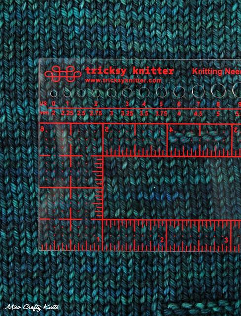 Tricksy Knitter Ruler 2