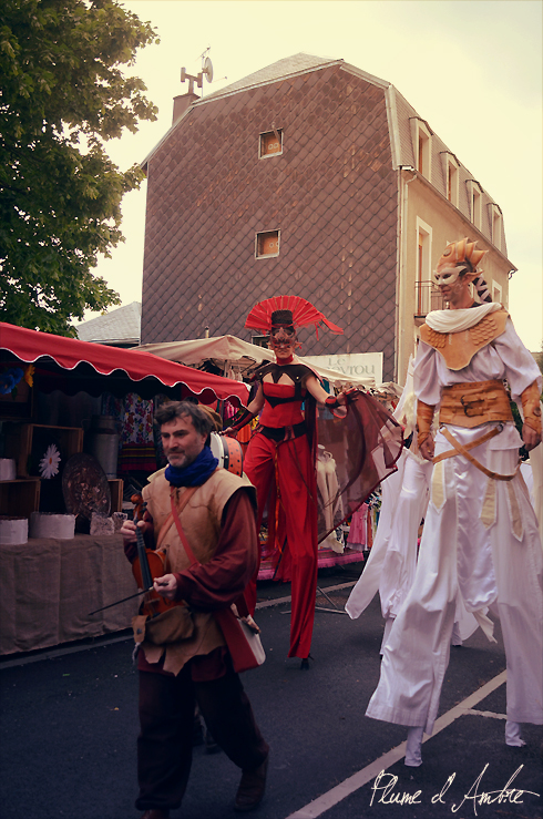 défilé mediéval