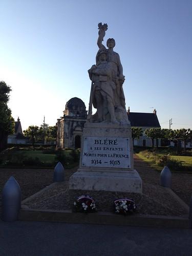Blere WWI memorial