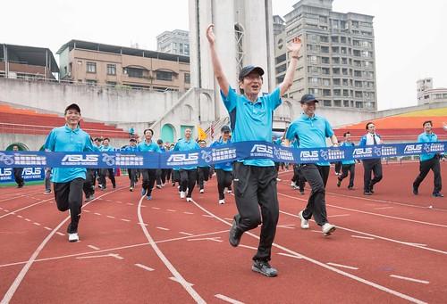 華碩25週年運動會