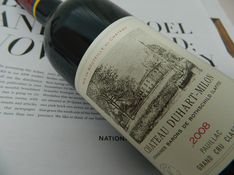 2008 Chateau Duhart-Milon - domaines barons de rothschild 4eme Pauillac  (Bordeaux)