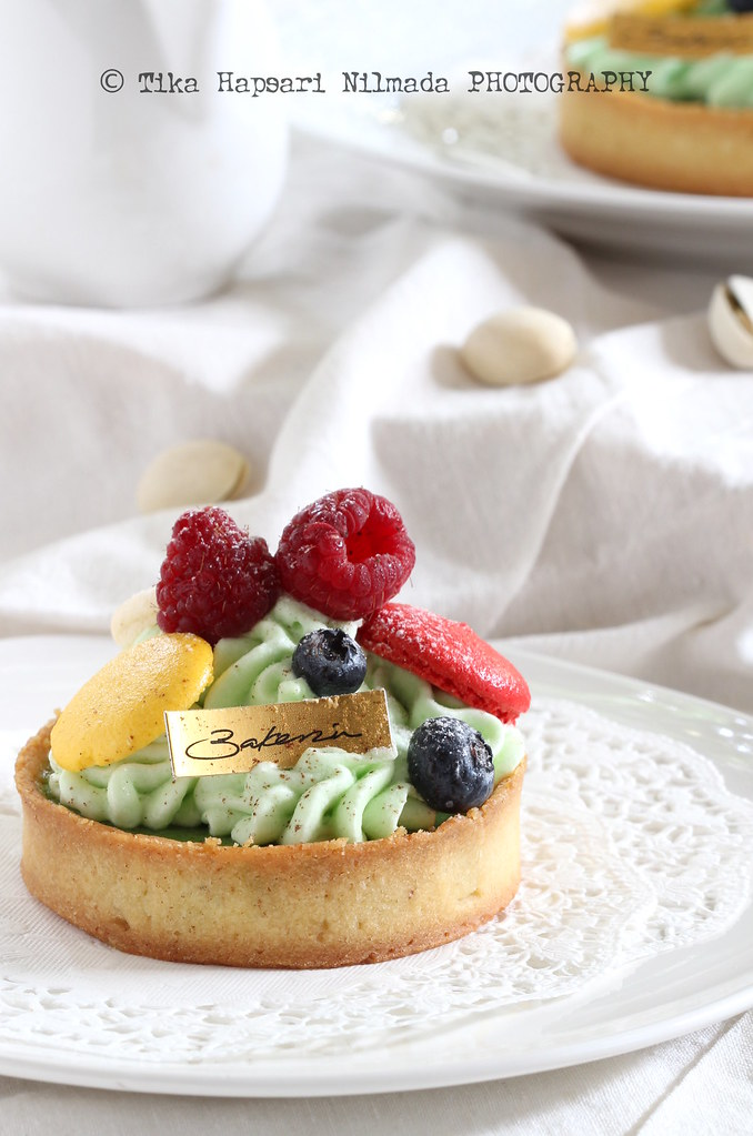 Bakerzin - Pistachio Trownies