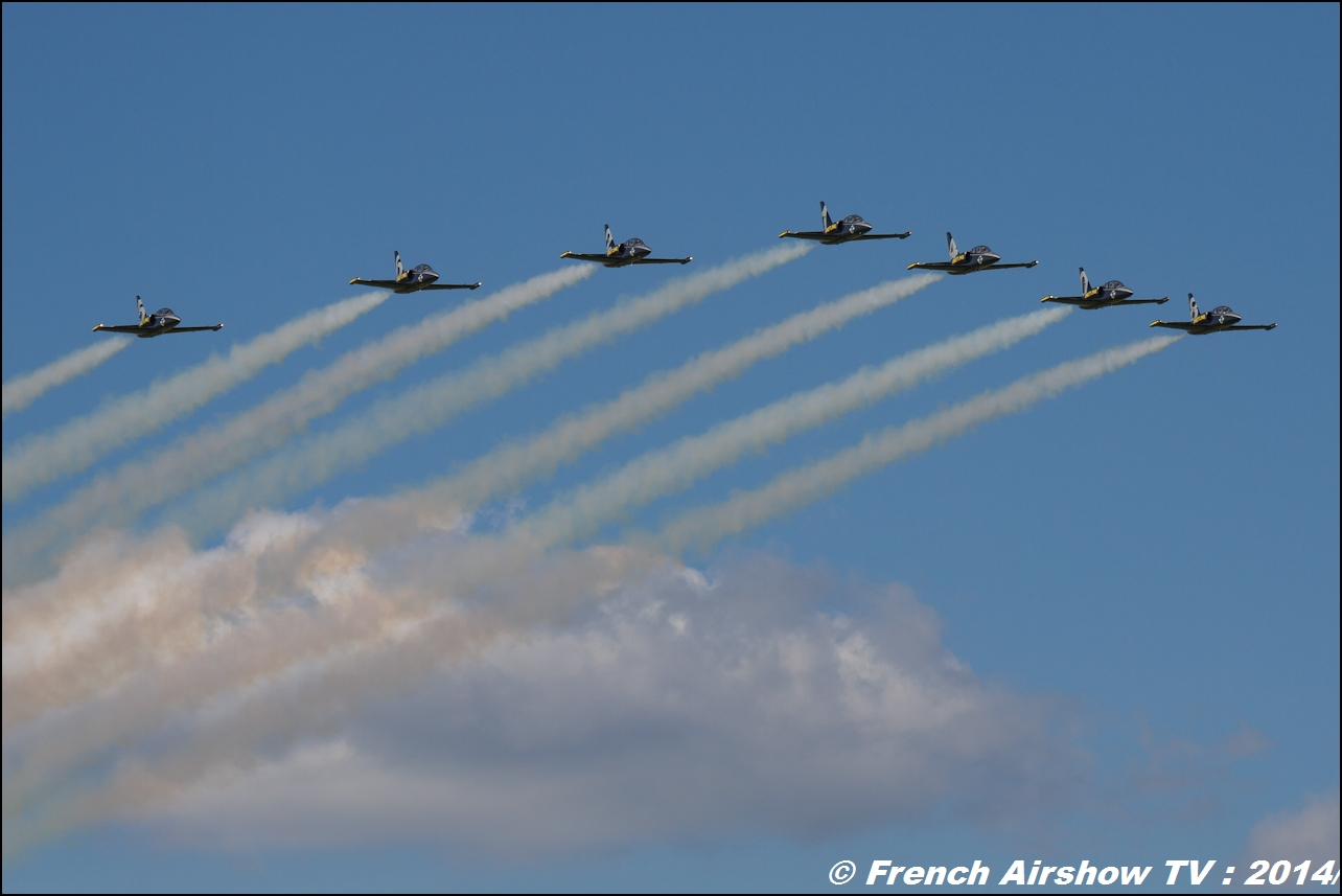 Breitling Jet Team MEETING AERIEN Til-Chatel 2014