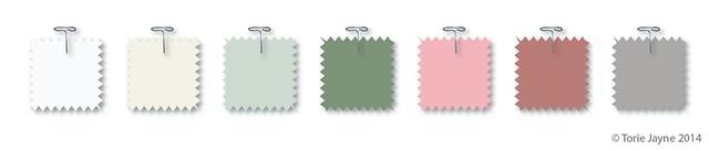 Vintage Craft colour palette