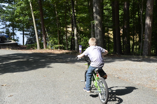 Koby could get around pretty good on that bike!