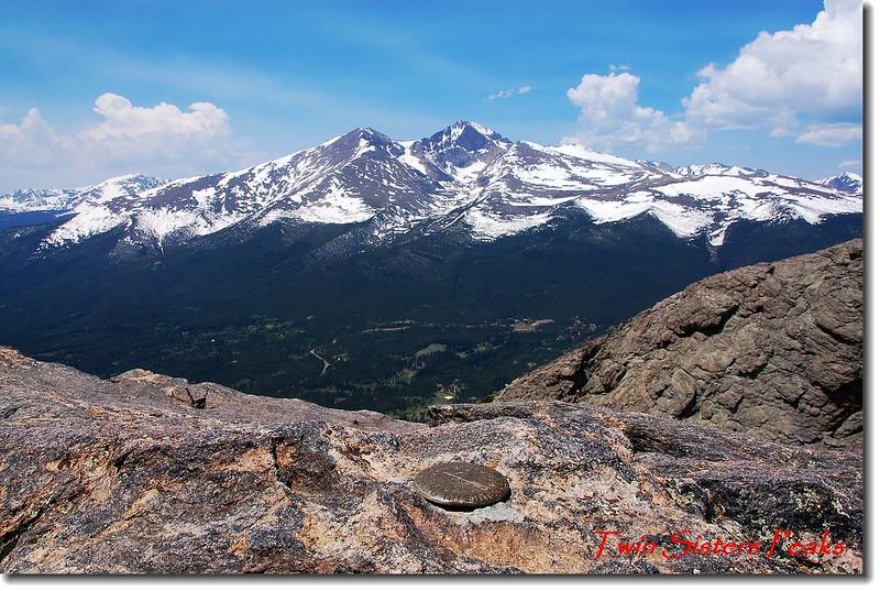 Twin Sister Peaks基點峰(東峰)基準點(Benchmark) 5