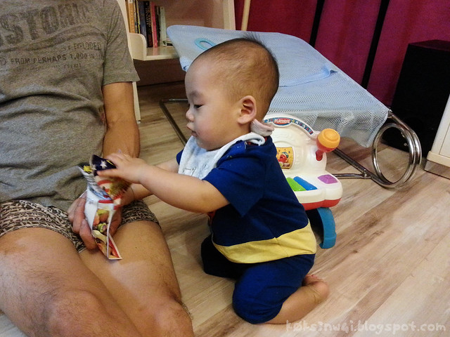 221 Days Old - Superman Stealing Food from Senior Citizen