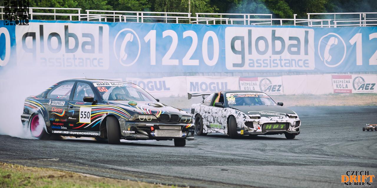 Czech Drift Series, CDS, Drift Allstars, Autodrom Sosnová, Česká Lípa, BMW M5 E39, Marco Zakouřil, Geos Drift Team, Nissan S13 200SX,