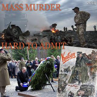 KATYN 1940 / DONETSK 2014: mass murder is something hard to admit