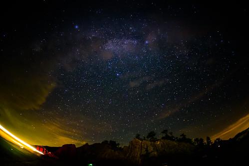 Taiwan.Hehuan Mountain.Galaxy.合歡山