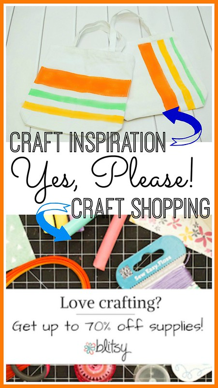 Craft Inspiration and Shopping at Blitsy - Review by The Silly Pearl