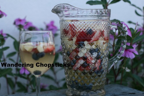 Red, White, and Blue White Wine Sangria 6