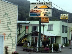 Palm Motel and Cafe Clean Comfortable Rooms