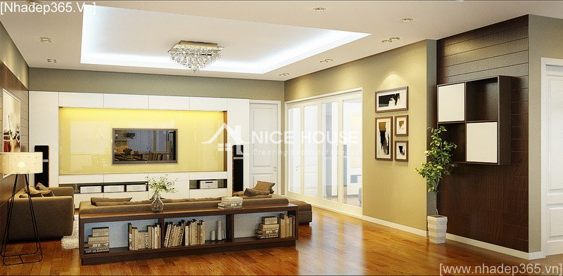 Thiết kế nội thất chung cư Linh Đàm - Chị Giang_01