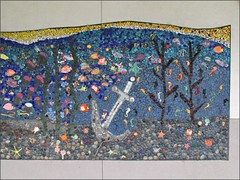 Nimitz Elementary School Mosaic, right