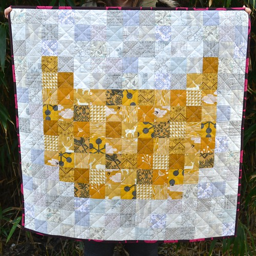 Cat quilt (small ears)