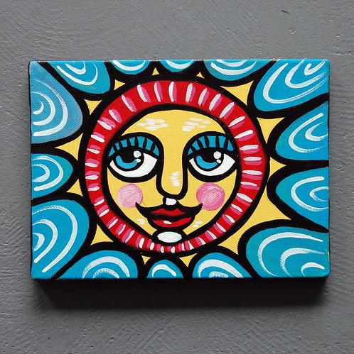 Folk Art Sun