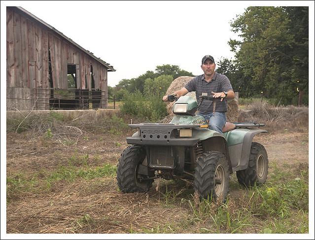 Steve On The ATV