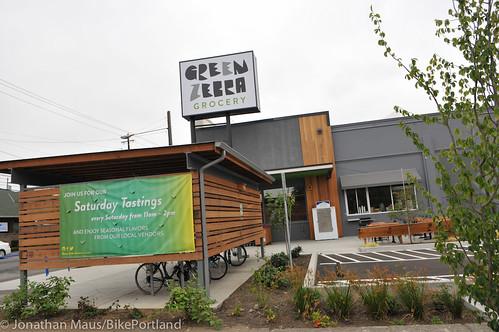 Bike parking at Green Zebra Grocery-6