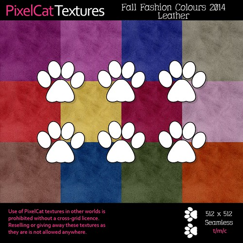 PixelCat Textures - Fall Colours 2014 - Leather