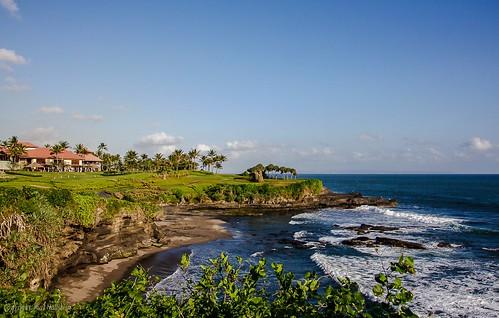 Golfplatz bei Tanah Lot Bali-Indonesien