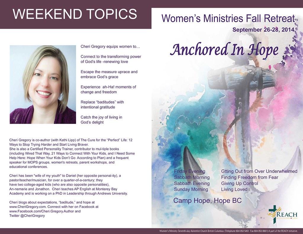 Women's Ministry fall 2014