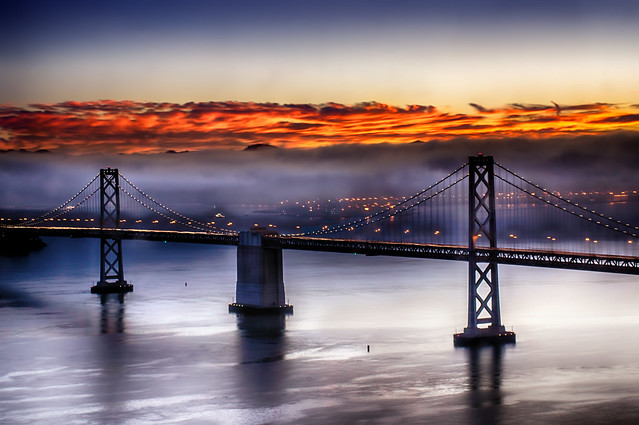 Bay Bridge Early Light